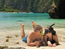 Couple on Phi Phi Islands