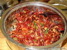 Bhutan's national dish made from chilis and cheese