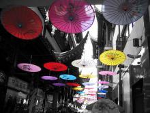Yuyuan Garden Paper Umbrella